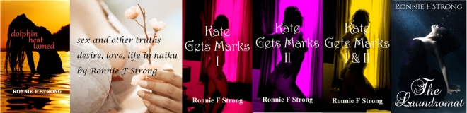 Ronnie Strong book covers banner